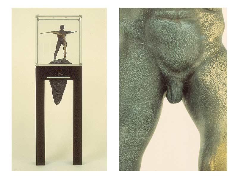Vogel auf dem Rücken eines Elefanten - 1990 - 41 / 134 / 14