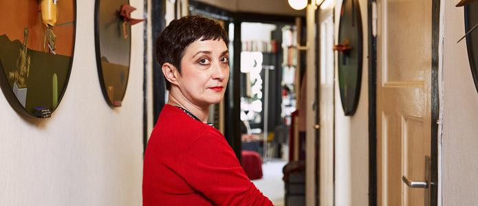 Zehra Çırak in ihrer Wohnung | © Yves Noir